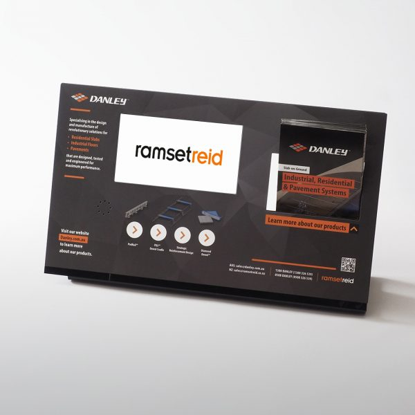 Video Brochures Direct - Ramset Reid POS Display