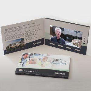 Video Brochures Direct - Taylor Video Brochure