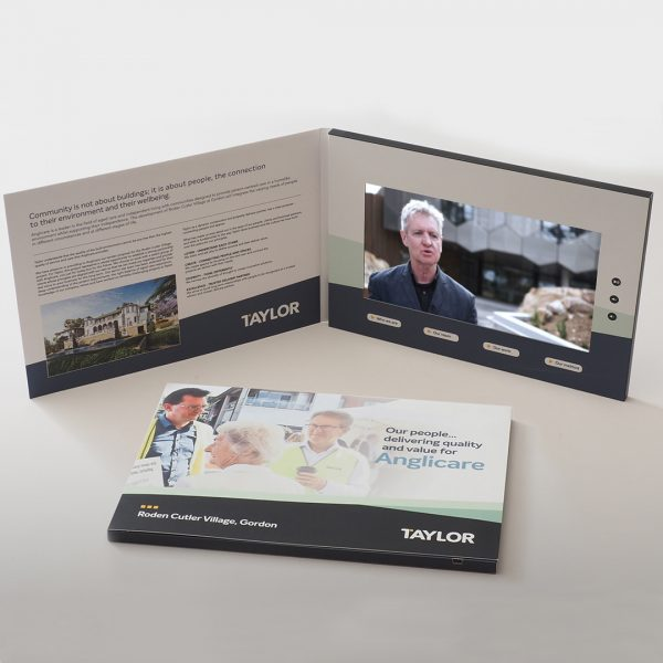 Video Brochures Direct - Taylor Video Brochure
