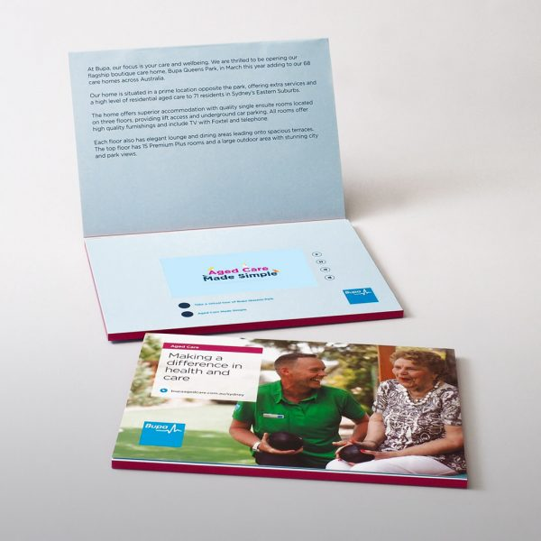 Video Brochure Direct - BUPA Video Brochure