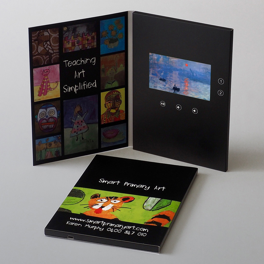 Video Brochures Direct - Smart Primary Art Video Brochure