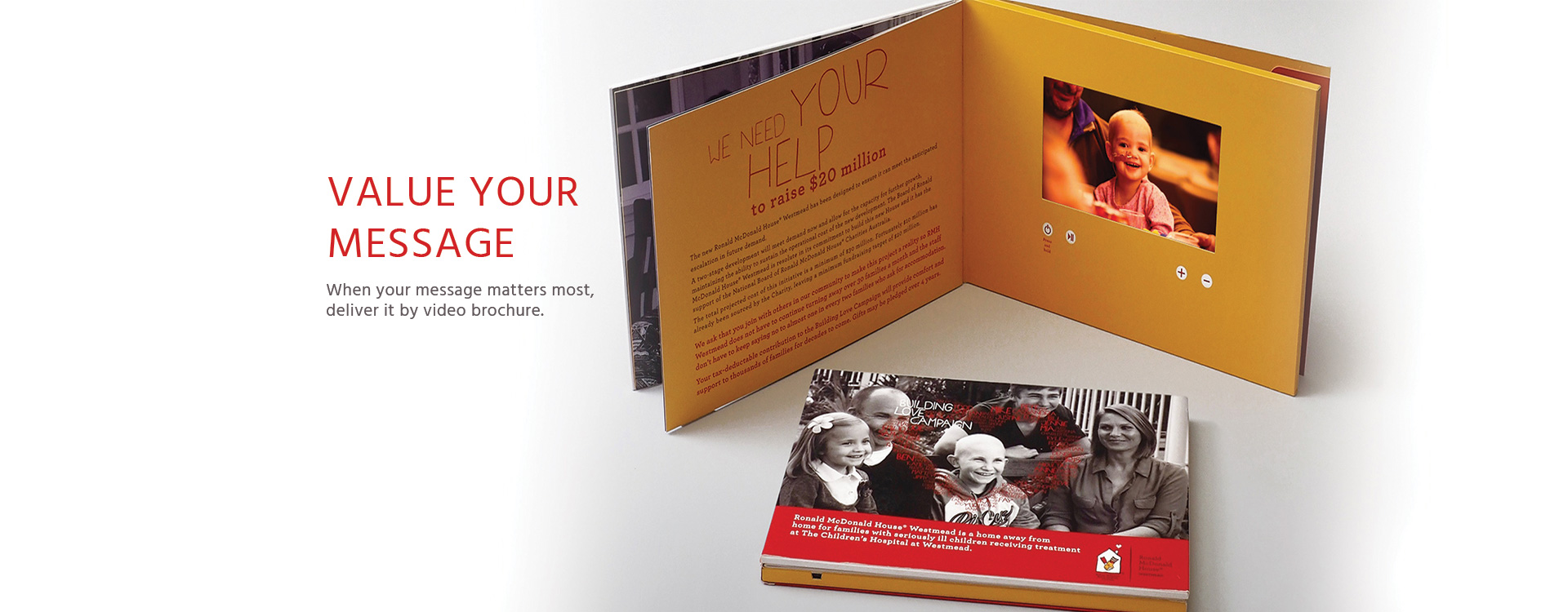 Video Brochures and Books with Expert Consultants