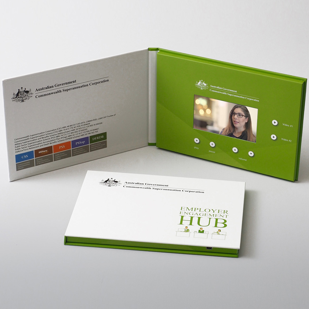 Australian Government Video Brochure Direct