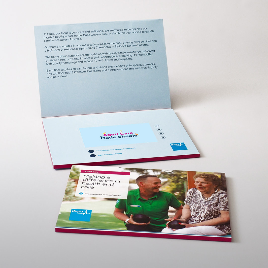 Video Brochures Direct - BUPA Video Brochure