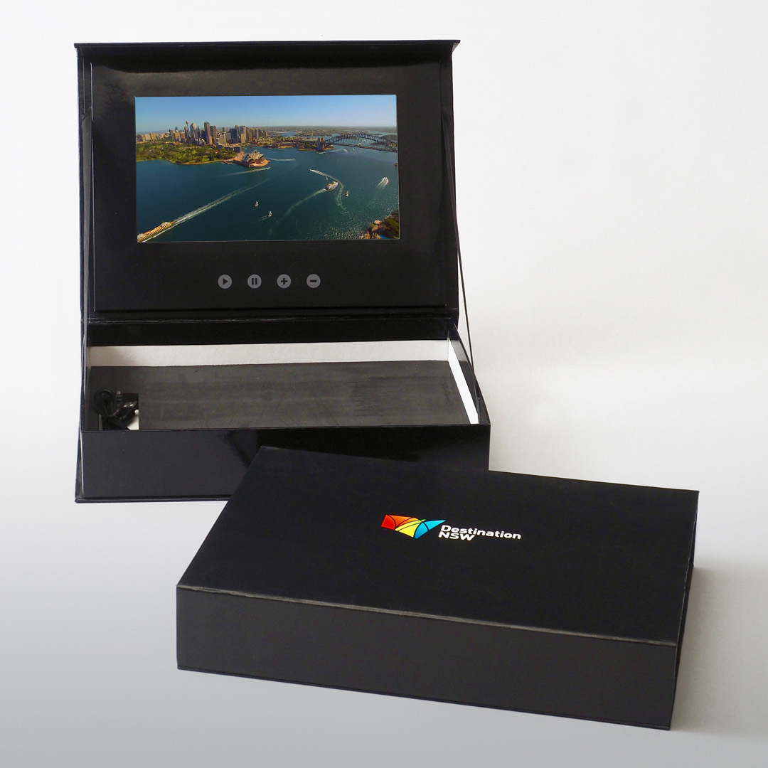 Video Brochure Direct - Destination NSW Presentation Box