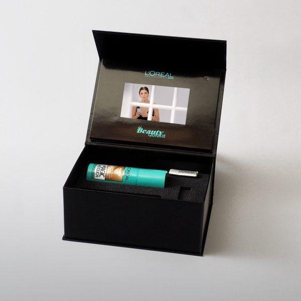 Video Brochure Direct - Loreal Presentation Box