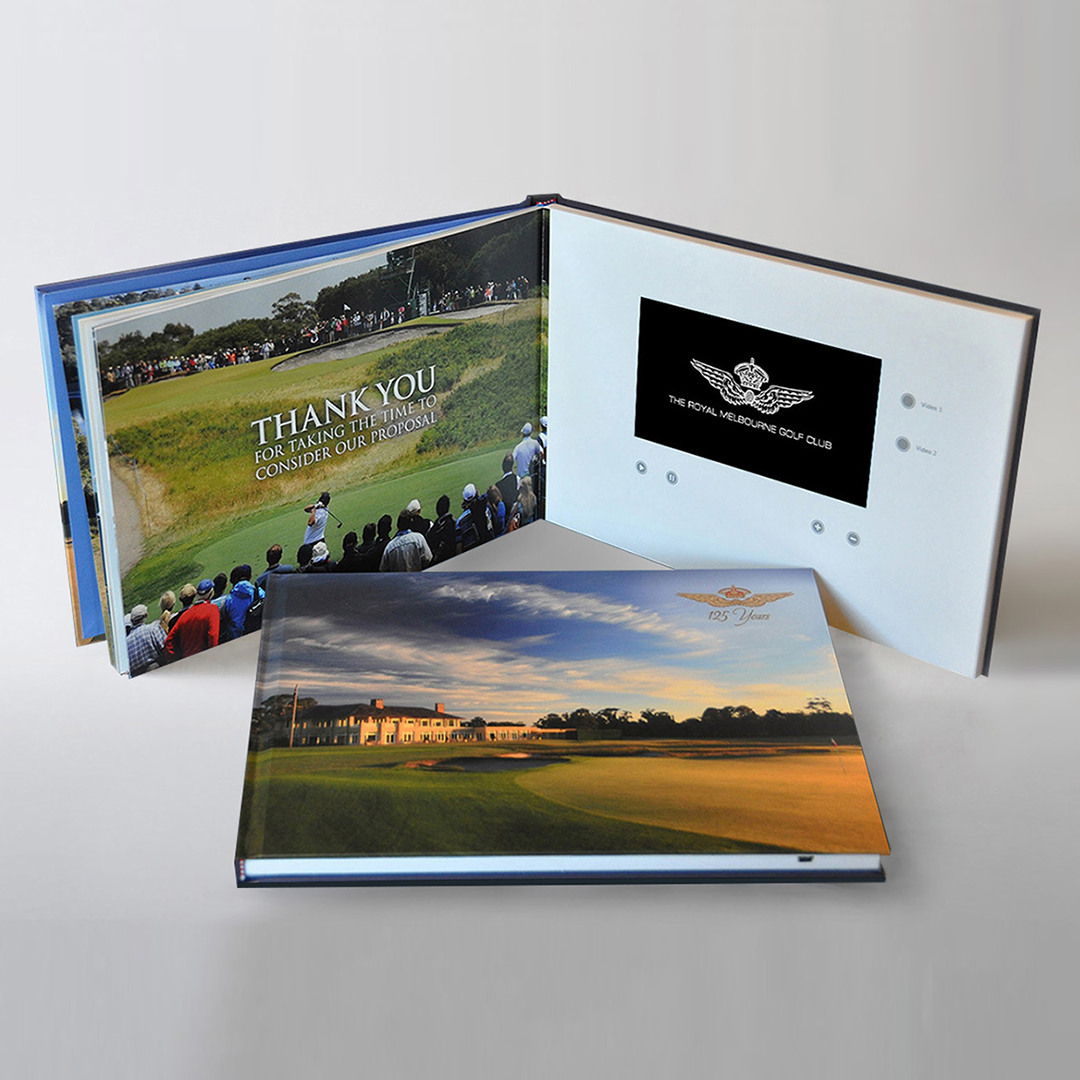 Video Brochure Direct - Royal Melbourne Golf Club Video Book