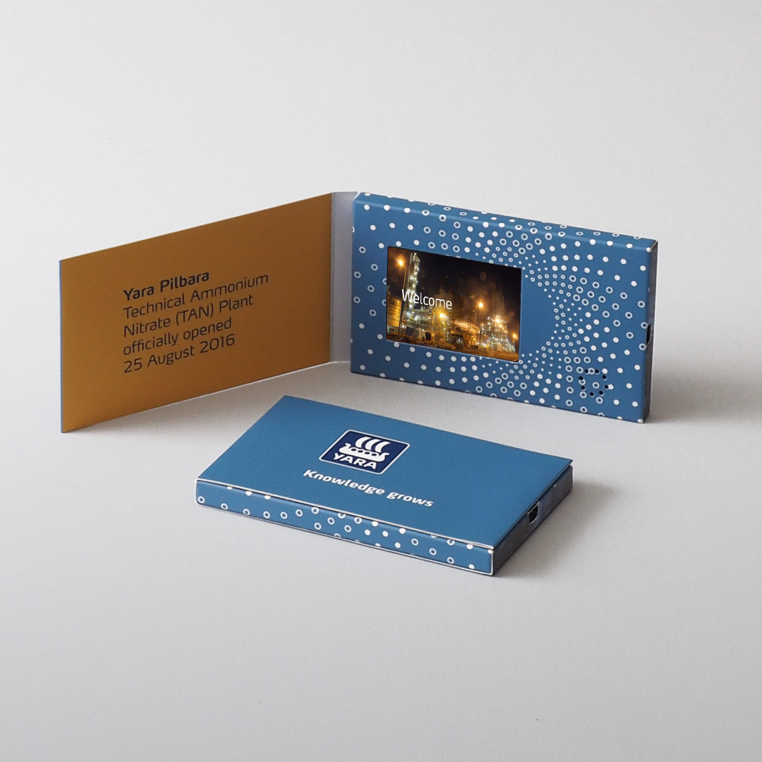 Video Brochure Direct - Yara Pilbara Business Card