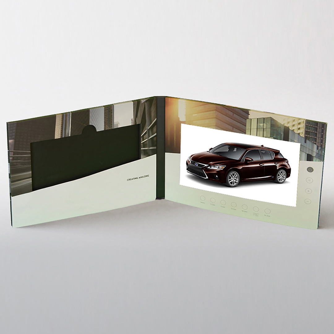 Extra Large Screen Video Brochure Direct