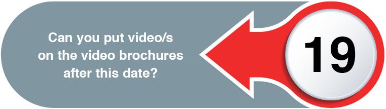 Video Brochures Direct - FEATURES & BENEFITS WEB QUESTIONS19
