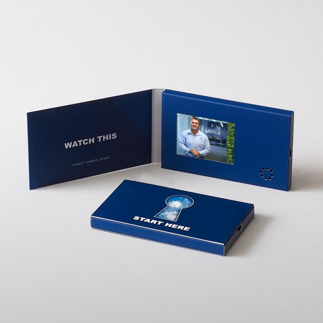 Video Brochure Direct - Mini Screen Business Card