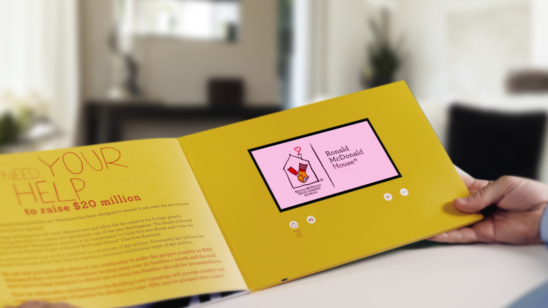 Video Brochures Direct - Ronald McDonald House Charities