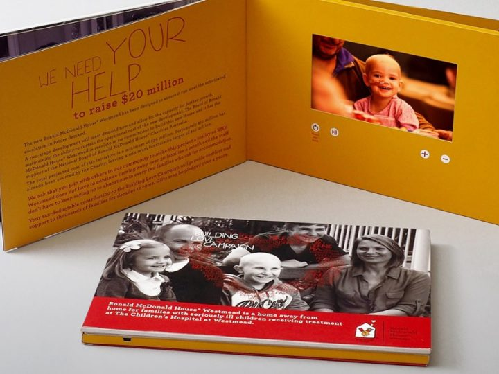 NonProfits Embrace Video Brochures to Raise Funds for Great Causes