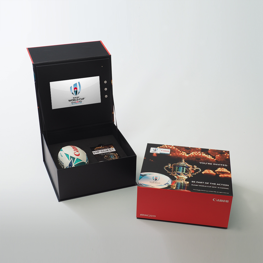 Video Brochures Direct - Canon Presentation Box