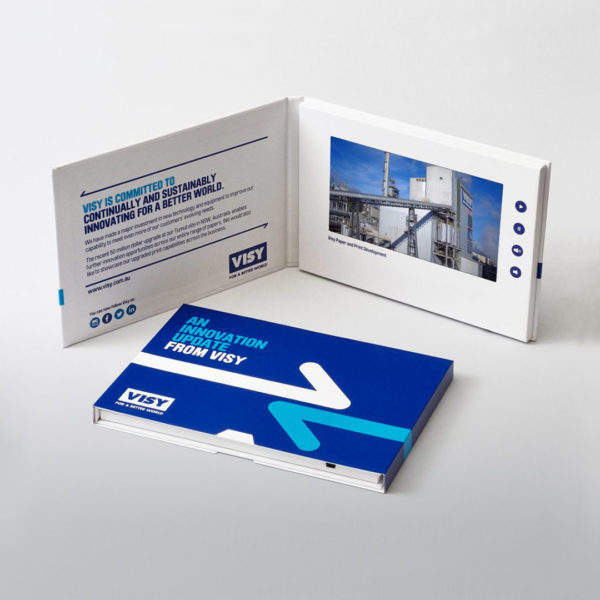 Visy Video Brochures Direct